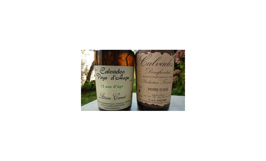 We have a large range of Normandy's own Calvados